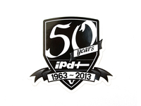 IPD Exclusive: 121476 IPD 50 Year Anniversary Sticker