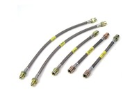Stainless Steel Brake Line Kit -1999-2000 P80 C70 S70 V70 FWD