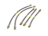 106109 Stainless Steel Brake Line Kit - 1999 P80 C70 S70 V70 FWD
