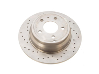 114054 Cross Drilled Rear Rotor - FWD Models (SALE PRICED)