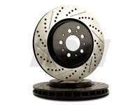 114801 StopTech Powerslot Rear Rotors - S60R V70R