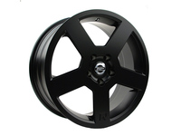 IPD Pegasus Replica Wheel - 18 Inch Matte Black