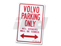 102484 Volvo Parking Only Sign (SALE PRICED)