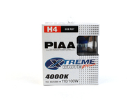 Xtreme White Headlamp Bulb H4 Pair 850 with single bulb headlamps (models without sunroof)