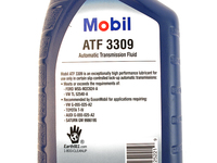 111541 MOBIL 3309 ATF AUTOMATIC TRANSMISSION FLUID (QUART)