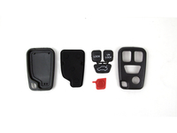 115608 ALARM REMOTE KEY FOB COVER (4 BUTTON) WITH BUTTONS