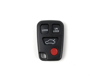 115608 Alarm Remote Key Fob Cover (4 Button) with Buttons (SALE PRICED)