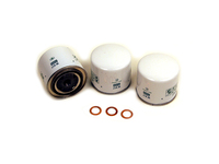 104651 Oil Filter 3 Pack w/ Copper Drain Plug Washers