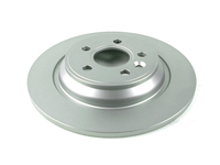 124030 QuietCast Rear Brake Rotor - P3 S60 S80 V70 XC70 with Electronic Parking Brake and Solid Rotors