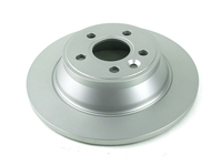 QuietCast Rear Brake Rotor - P3 S80 V70 XC70 with Manual Parking Brake