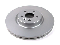 124028 QuietCast Front Brake Rotor - P3 S80 V70 XC70 336MM