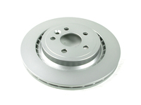 124027 QuietCast Rear Brake Rotor - P3 S60 S80 V70 XC70 with Electronic Parking Brake & Vented Rotors