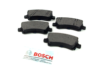 123986 QuietCast Rear Brake Pad Set - P3 S80 V70 XC70 XC60 S60 with Electric Parking Brake