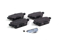 124470 Rear Brake Pad Set - P3 S80 V70 XC70 with Manual Parking Brake