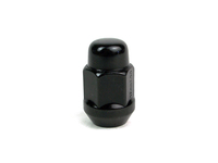 Black Lugnut - 12 x 1.5mm