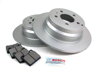124633 QuietCast Rear Brake Kit - P80 850 S70 V70 C70 FWD