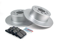 124634 QuietCast Rear Brake Kit - 240 260