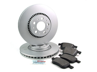124637 QuietCast Front Brake Kit 305mm Rotors - P2