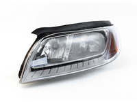 121964 Halogen Headlamp & Turn Signal Assembly Left - P3 S80 V70 XC70
