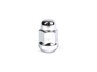 124745 Chrome Lugnut - 12 x 1.5mm