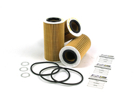 124857 Oil Filter 3 Pack with Drain Plug Washers