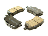 Rear Brake Pad Set Ceramic - P3 S80 V70 XC70 XC60 S60 with Electric Parking Brake