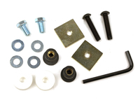 IPD Exclusive: 115529 Aluminum Skid Plate Replacement Hardware Mounting Kit
