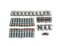 IPD Exclusive: 125188 Wheel Stud Conversion Kit Chrome Lugnuts