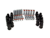 IPD Exclusive: 125189 Wheel Stud Conversion Kit Black Lugnuts