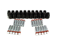 IPD Exclusive: 125439 Wheel Stud Conversion Kit - Black Lugnuts