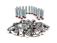 IPD Exclusive: 125440 Wheel Stud Conversion Kit - Chrome Lugnuts