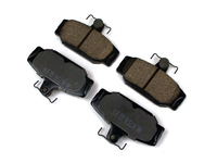 Rear Brake Pad Set Ceramic