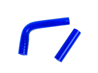 Silicone Turbo Coolant Hose Kit - Blue