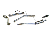 Turbo Back Sport Exhaust Kit - Straight Flange