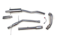 114199 Turbo Back Sport Exhaust Kit - Angle Flange