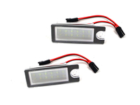 LED License Plate Light Assembly Pair - P2