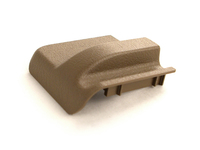 Front Driver Side Seat Rail Cover - Beige - Power Seats - 850 S70 V70 C70