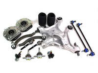KITBUILDER Front Suspension & Steering Kit P2 S60 V70 2004-2007 W / Aluminum Control Arms