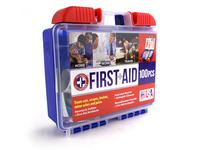 259364 100 Piece First Aid Kit