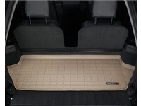 115289 WeatherTech Cargo Liner Tan XC90 with 3 Row Seating