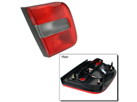 114891 Left Inner Tail Lamp Lens S70