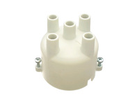 101210 White Distributor Cap 240 with Chrysler Ignition