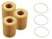 114116 Oil Filter 3 Pack with Drain Plug Washers