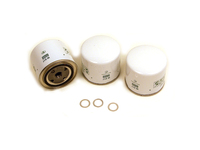 Oil Filter 3 Pack w/ Aluminum Drain Plug Washers