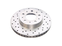 112106 Cross Drilled Front Rotor - 700