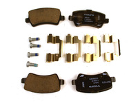 115699 Rear Brake Pad Set P3 S80 V70 XC70 XC60 with Electric Parking Brake