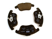 115698 FRONT BRAKE PAD SET P3 S60 S80 V70 XC70 WITH 300MM ROTORS