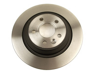 115707 Rear Brake Rotor P3 S60 S80 V70 XC70 with Electronic Parking Brake and Solid Rotors