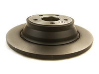 115706 REAR BRAKE ROTOR P3 S80 V70 XC70 WITH MANUAL PARKING BRAKE