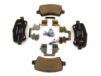 115717 Rear Brake Pad Set - P3 S60